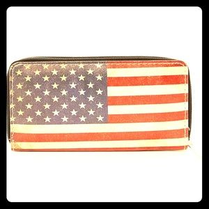 Distressed American Flag Wallet